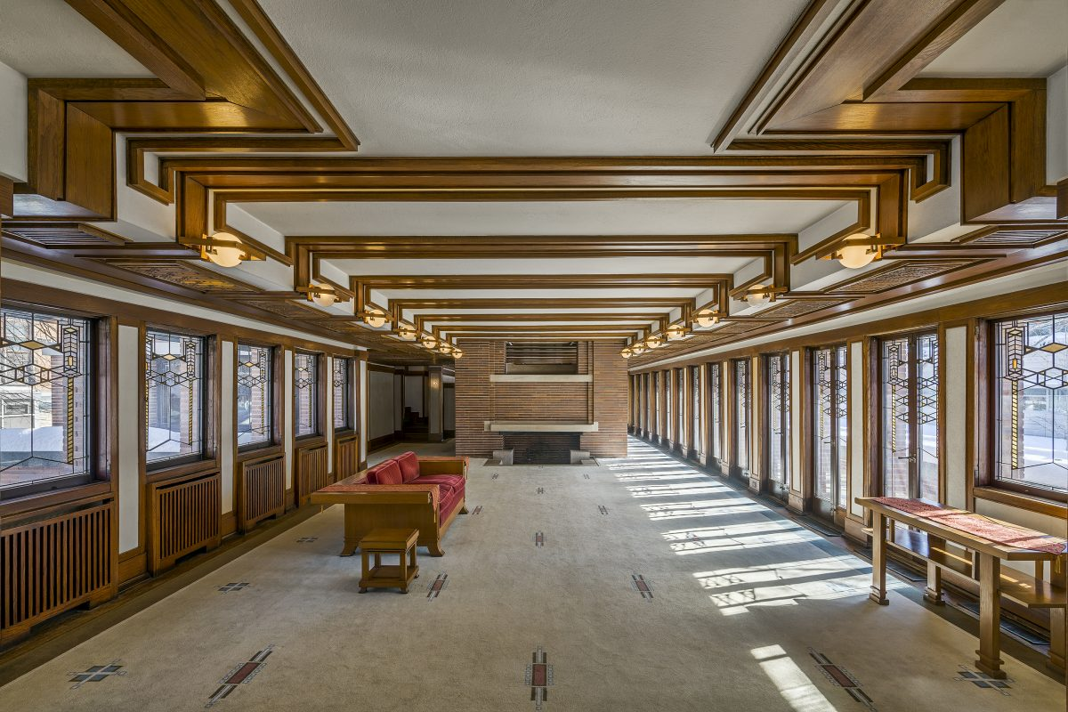 Two Family Floor Plans Robie House Teaching By Design